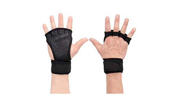 1pair Grips crossfit gymnastics hand grip guard palm protectors leather glovLB1