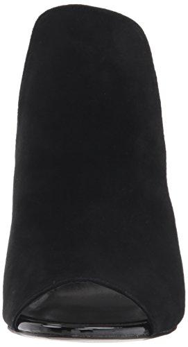 Madden Women's Black Heeled Suede Sandal Steve Sinful OdZwOx