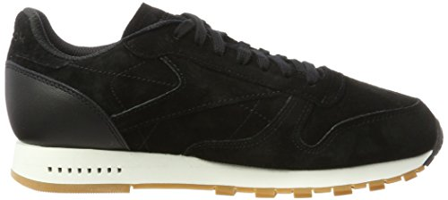 black Reebok Classic chalk Homme gum Baskets Leather Sg Noir YqTB6q4v