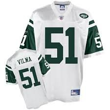Reebok New York Jets NFL fútbol Americano Jersey Camiseta - Vilma # 51 - Mens Extragrande XXL - NWT: Amazon.es: Deportes y aire libre