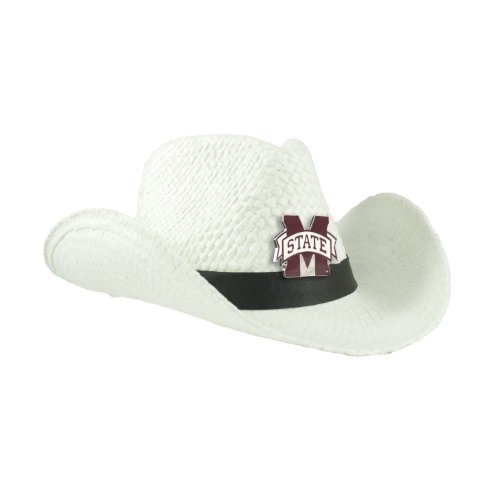 NCAA Mississippi State Bulldogs White Cowboy Hat