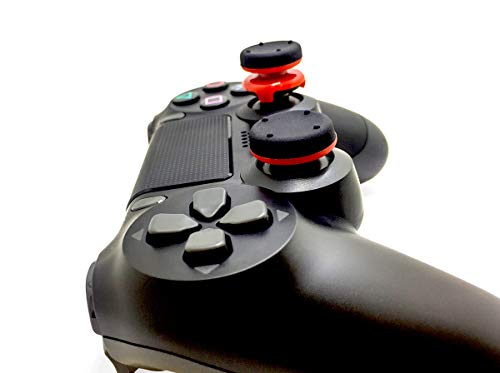 Marksman GearZ Analog Thumb Sticks Extenders Performance Thumbsticks for PlayStation 4 Controller PS4