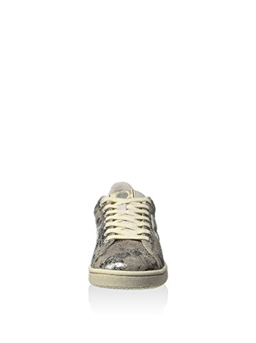 Sneakers Autograph Silver Suede Women Crackle Metallic Lotto 0pqwX
