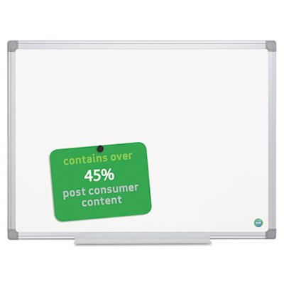 Earth Gold Ultra Magnetic Dry Erase Boards, 48 x 72 White, Aluminum Frame, Sold as 1 Each by Generic