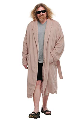 The Big Lebowski The Dude Bathrobe Costume Standard Pink