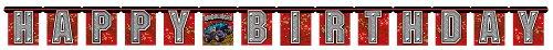 Jointed Happy Birthday Banner, Mudslinger