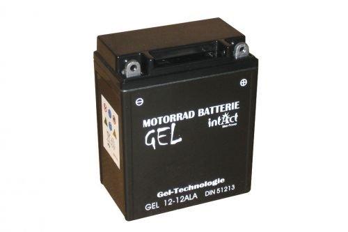12 V 12 AH batteria yb12al Gel Power Batterie di a (134 X 80 X 161 mm) per il motociclo Intact