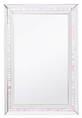 (Camden Isle Mosaic Tiled Frame Mirror)