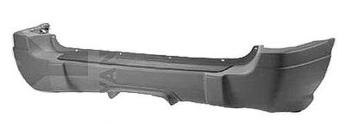 CPP Gray CH1100276 Rear Bumper Cover for 99-02 Jeep Grand Cherokee