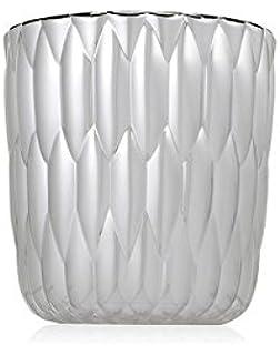 kartell jelly vase by patricia urquiola pack of 2 metallic chrome battery lamp ferruccio laviani monday