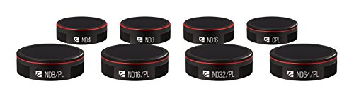 Freewell All Day 8 Pack ND4, ND8, ND16, CPL, ND8/PL, ND16/PL, ND32/PL, ND64/PL Filters Compatible with Autel Evo