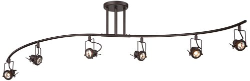 Pro Track European Style 6-Light Wave Bar
