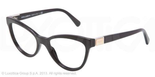 Dolce Gabbana-Monture  -Femme - Noir - Medium  Amazon.fr  Vêtements ... 7d50854a25e7