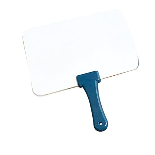 Quick Response Whiteboard w/ Blue Handle - Dry Erase Board