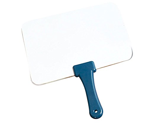 Quick Response Whiteboard w/ Blue Handle - Dry Erase Board For Active Learning