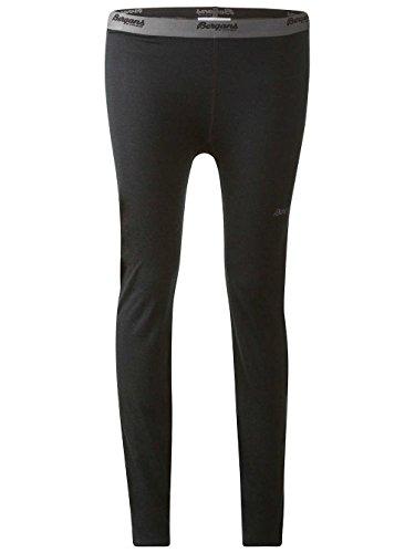 Bergans akeleie Underpants Mallas–�?20ER Funcional con lana de merino negro