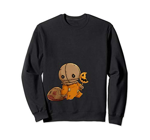 Trick r Treat Funny Cute Sam Halloween Costume Sweatshirt]()