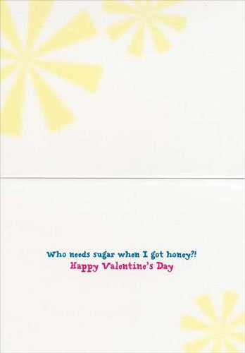 Bassett Couple Nose To Nose Funny Dog Valentine's Day Card Photo #2