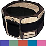 Pet Gear Travel Lite Soft-Sided Octagon Pet Pen With Removable Top