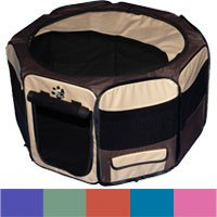 (Pet Gear Small Octagon Pet Pen Tan)