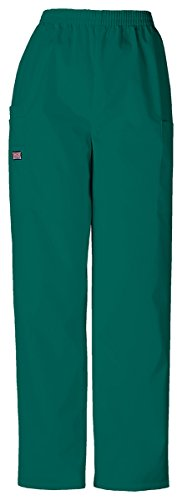 Cherokee Women's Comfy Tapered LPull-On Cargo Pant_Hunter_Medium Tall,4200T (4101 Cherokee Scrub Pants Hunter)
