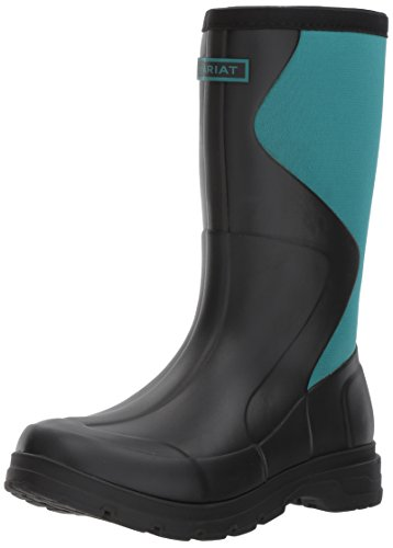 Ariat Women's Springfield Rubber Work Boot, Black, 8 B US by Ariat
