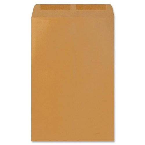 Catalog Envelope Sparco - Sparco Catalog Envelope, Plain, 28lb, 10 x 15 Inches, 250 per Box, Kraft (SPR09657)