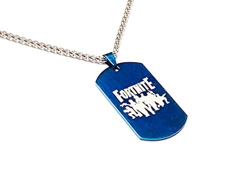 Necklace Dog TaG (Blue)
