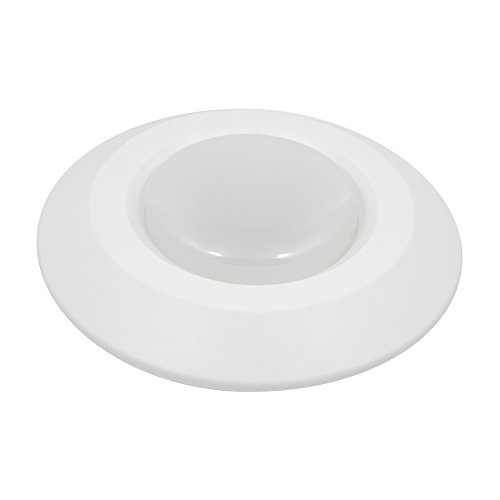 Four Downlight - American Lighting ST56-30-WH Satellite Bevel Economy Downlight, 4-6 inch, White