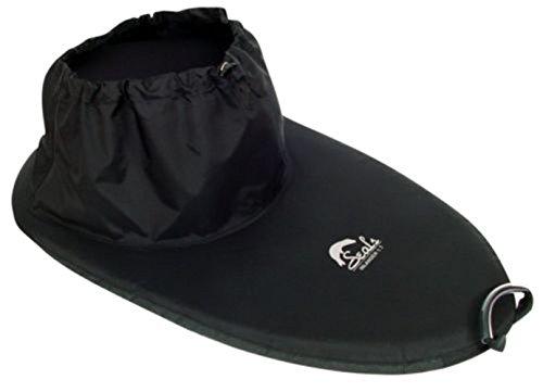 Kayak Spray Skirt 2.2 Seals Inlander Nylon Black kayak accessories spray skirt by Canoe
