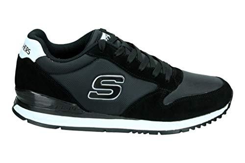 Skechers Sneakers Sunlite-WALTAN Nero Bianco 52384-BLK (46 - Nero)