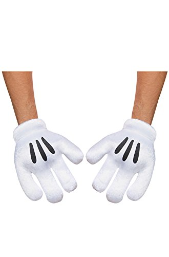 Disguise Costumes Mickey Mouse Gloves, Adult (Mickey Mouse Costume For Men)