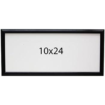 Amazon.com - Panoramic Oak 10x24 Picture Frame Black -