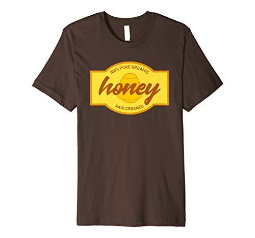Jar of Honey Sticker Label Costume T-Shirt for Halloween -