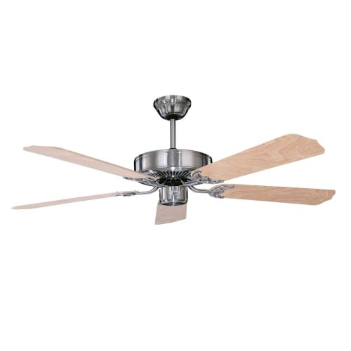 Concord 52CH5ST Ceiling Fans, Stainless Steel Finish