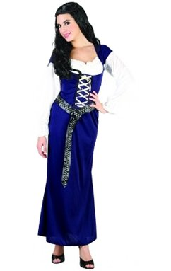 Ladies Maid Marian Robin Hood Costume Outfit for Sherwood Medieval Fancy Dress  sc 1 st  Amazon UK & Ladies Maid Marian Robin Hood Costume Outfit for Sherwood Medieval ...