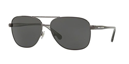 Sunglasses Brooks Brothers BB 4042 S 167687 GUNMETAL/GREY - Brothers Brooks Sunglasses