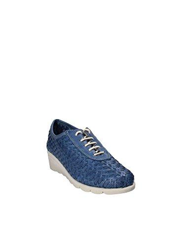 28 Flexx The Bonitas Sneakers C2501 Blue BLU Shoes Woman AqznXdzw