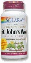 Wort formule spéciale de St. John 755mg Solaray 60 Caps