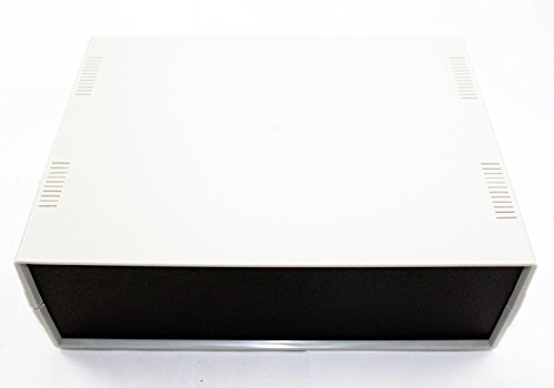 "Heavy Duty Desktop Project Enclosure OD 10"" (W) x 7.4"" (D) x 3"" (H)"