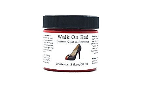 Walk On Red Bottom Coat & Restorer Angelus Brand Acrylic Leather Paint for Christian Louboutin Heels Only Contents: (2 fl. oz / 60 ml) (Womens Arctic Ca)