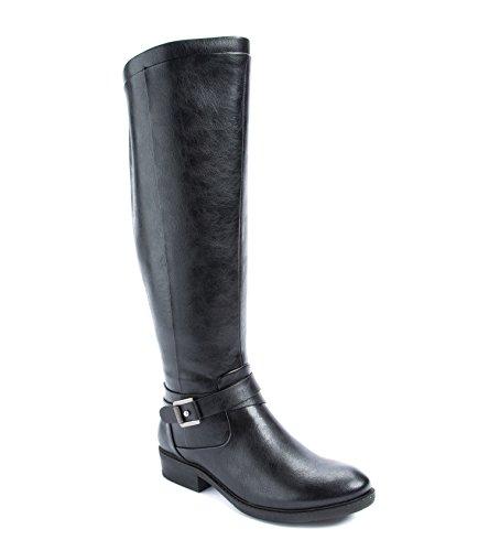 BareTraps Women's Bt Yvonna Riding Boot, Black, 8.5 US/8.5 M US
