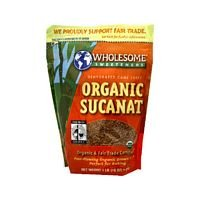 Wholesome Sweeteners Sucanat 2 #, Og, 2-Pound (Pack of 3)