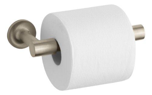 Kohler K-14377-BV Purist  Toilet Paper Holder, Vibrant Brushed (Tissue Holder Vibrant Brushed Bronze)