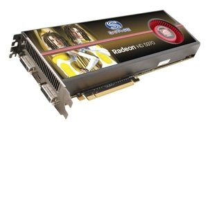 Sapphire Radeon HD 5970 ATI Video Card - 2GB GDDR5, PCI-Express 2.0, CrossFireX Ready, Dual DVI, Mini Display Port