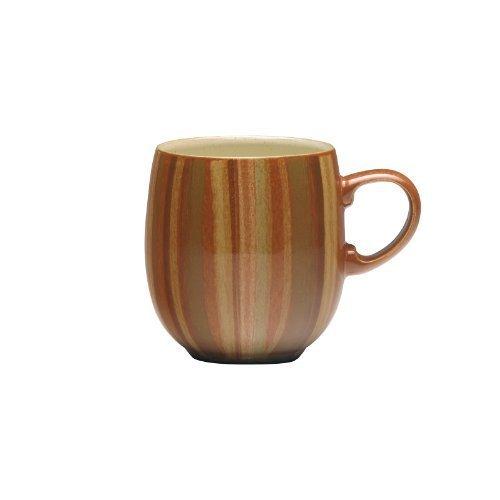 Denby Fire Stripes Large Curve Mug by Denby