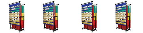 Carson-Dellosa Double Pocket Chart Stand Pocket Chart Accessory (158004) (4-(Pack))