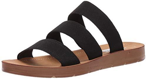 Steve Madden Women's Pascale Sandal, Black, 7 M US (Steve Madden Sandals)