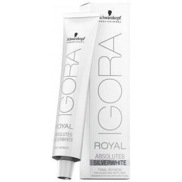Schwarzkopf Igora Royal Absolutes SilverWhite Tonal Refiner - Silver