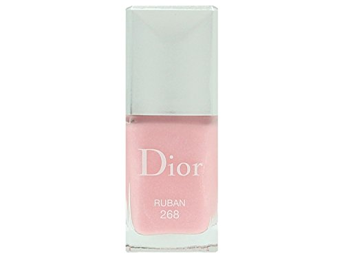Christian Dior Vernis Couture Colour Gel Shine and Long Wear Nail Lacquer for Women, No. 268 Ruban, 0.33 oz